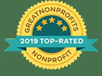 GreatNonProfits 2019 Top-Rated Nonprofit